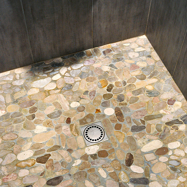 Tablissements bergot landivisiau carreleur - Pose carrelage mosaique salle de bain ...
